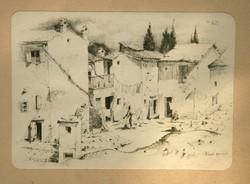 Z. Soós jelzéssel - Fiesolei házacskák