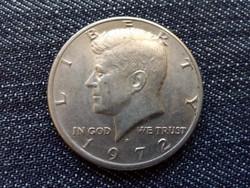 USA Kennedy half dollar 1/2 Dollár 1972 D / id 15451/