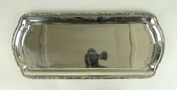 0W031 Régi 800-as ezüst tortás tálca 510g