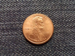 USA Lincoln Emlékmű szép 1 Cent 2000 / id 15621/