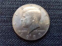 USA Kennedy half dollar 1/2 Dollár 1988 D / id 15455/