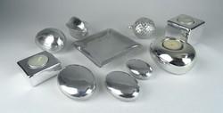 0R574 Ezüst színű dísztárgy csomag 10 db
