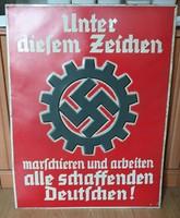 Német birodalmi propaganda plakát