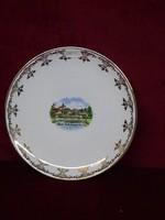CM Hutschenreuther német porcelán süteményes tányér, 19,5 cm átmérővel.