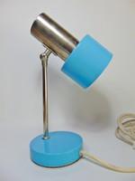 Babakék retro asztali lámpa