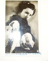 Dedikált sztárfotók /Jan Kiepura, Annabella, Lucy English, Liane Haid/ 6 db 30-as évek kis méret!