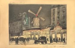 Paul Eugene /Gen Paul (1895-1975): Moulin Rouge 1918 körül