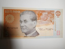 Észtország 5 krooni 1994 UNC