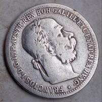 *Osztrák ezüst 1 Korona 1899.*