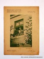 1934 október 21  /  MAGYAR LÁNYOK  /  RÉGI EREDETI ÚJSÁG Szs.:  8006