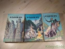 J. R. R. Tolkien: A Gyűrűk Ura I-III. (A GYŰRŰ SZÖVETSÉGE/A KÉT TORONY/A KIRÁLY VISSZATÉR)