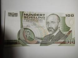 Ausztria 100 shilling 1984 UNC