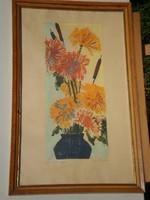 Rác András (1926 - ) : Őszi virágok