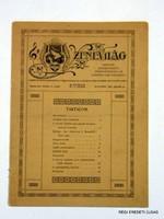 1910 január 15  /  ZENEVILÁG  /  ÚJSÁG RITKASÁG! Szs.:  3773