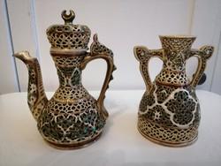 Zsolnay pecs persisches dekor hibatlan