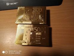 Arany Póker kártya! INGYEN POSTA!