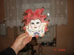 Porcelán-fali dísz