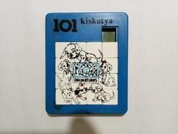 101 kiskutya retro tili-toli játék, RITKA!