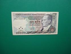 Törökország 10000 Líra 1970