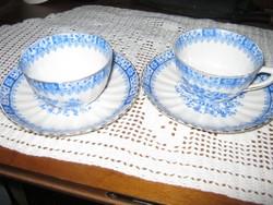 2 db  Bavaria csésze  és tányér kék kínai mintával