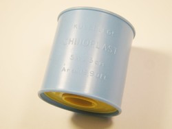 Retro kötszer rögzítő tapasz - Chinoplast Biogal Gyógyszergyár Debrecen - 1970-1980-as évekből