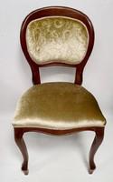 Felújított chippendale támlás szék