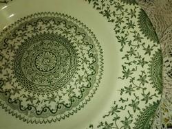 Csipke ,mandala mintás,angol fajansz mély tányér
