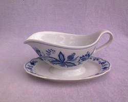 Hagymamintás porcelán ECHT COBALT mártáskiöntő
