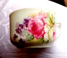 Rózsás teás csésze