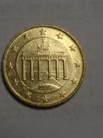 RITKA Német Euró 10 cent 2005 F jelű