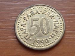JUGOSZLÁVIA 50 PARA 1990