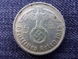 Németország Horogkeresztes .900 ezüst 5 birodalmi márka 1936 D / id 13751/