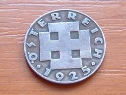 AUSZTRIA OSZTRÁK 2 GROSCHEN 1925 BRONZ #
