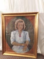 1,-Ft Nagyméretű Halvax Gyula (1906-1984 ) festmény!