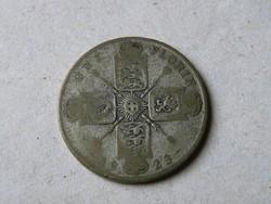 KK531 1923 Angol florin ezüst érme