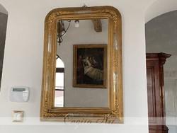 Biedermeier tükör restaurált 85x60cm