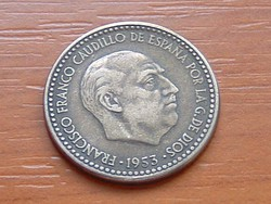 SPANYOL 1 PESETA 1953