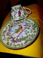 Antik Victoria  porcelán  csésze és csészealj