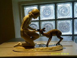 ROSENTHAL antik porcelan szobor