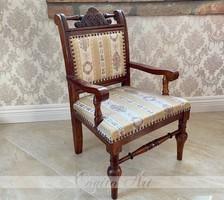 Antik gyerek fotel / karosszék restaurált