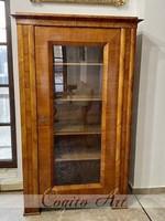 1820 Osztrák biedermeier könyvszekrény / vitrin