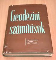 Műszaki, térképészeti szakkönyv eladó: Geodéziai számítások (Dr. Vincze Vilmos, 1959.)