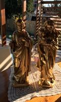 Fa szent szobrok