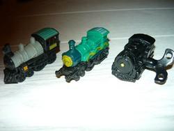 3db mozdony,a régi Kinder sorozatból