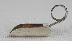 0W373 Régi ezüst fűszereskanál 10 g