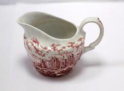 Angol porcelán tejkiöntő (ZAL-BI38584)