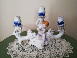 Arpo porcelán gyertyatartó