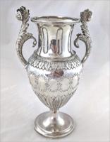 Neoklasszicista  800 ezüst    virágváza