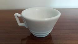 Antik vastagfalú porcelán csésze fehér kávés bögre 1 db