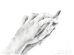 Szász szignóval 17 x 23 cm ceruzarajz, papír